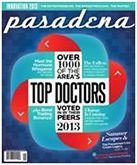 POA has been voted for Top Docs in Pasadena Magazine for 2013